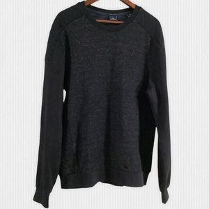 Scotch & Soda Navy Marl Crew Neck Sweatshirt XL